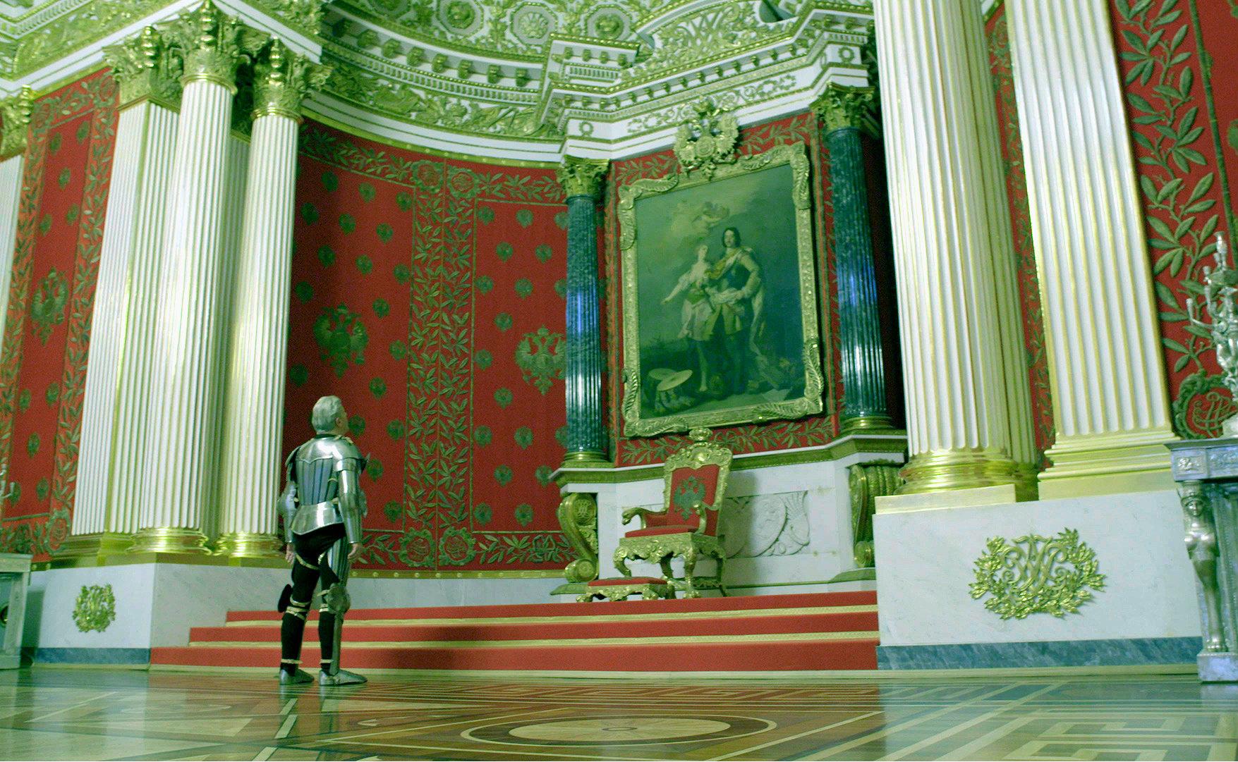 Выставка «Ян Фабр: Рыцарь отчаяния – воин красоты» в Государственном Эрмитаже. Фото: Kuda-spb.ru